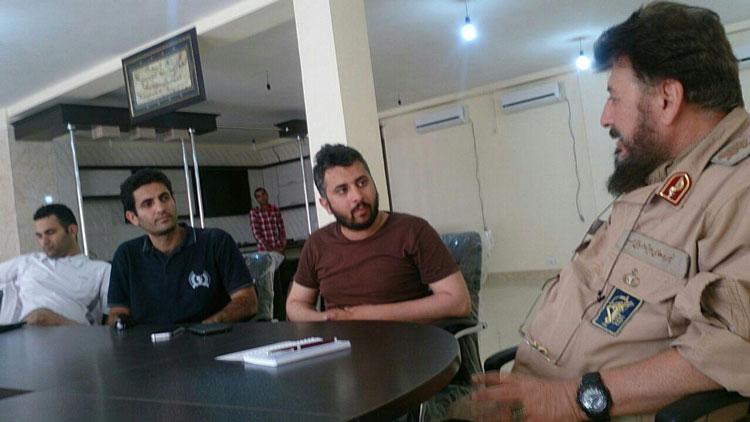 حاج محمد ناظری - مسابقه فرمانده