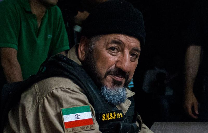 سردار حاج محمد ناظری فرمانده نیروهای ویژه نیروی دریایی سپاه