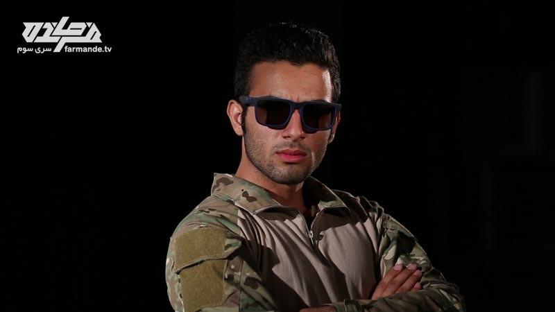 علی در مسابقه فرمانده سری سوم