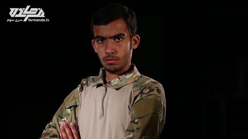 حسین در مسابقه فرمانده سری سوم