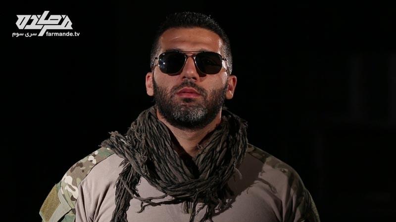 صالح در مسابقه فرمانده سری سوم