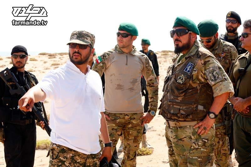 حسین افشار تهیه کننده مستند مسابقه فرمانده و شهید حاج محمد ناظری