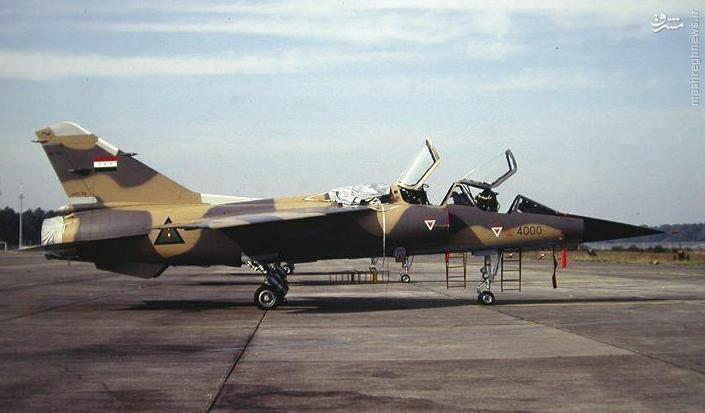جنگنده میراژ اف 1 ارتش عراق