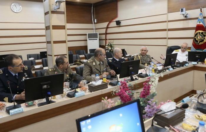 بازدید هیات نظامی ایتالیایی از ایران