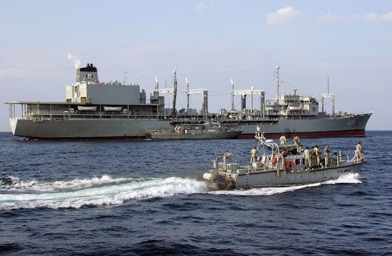 ناوگروه 44 نیروی دریایی راهبردی ارتش، وارد آب های تانزانیا شد