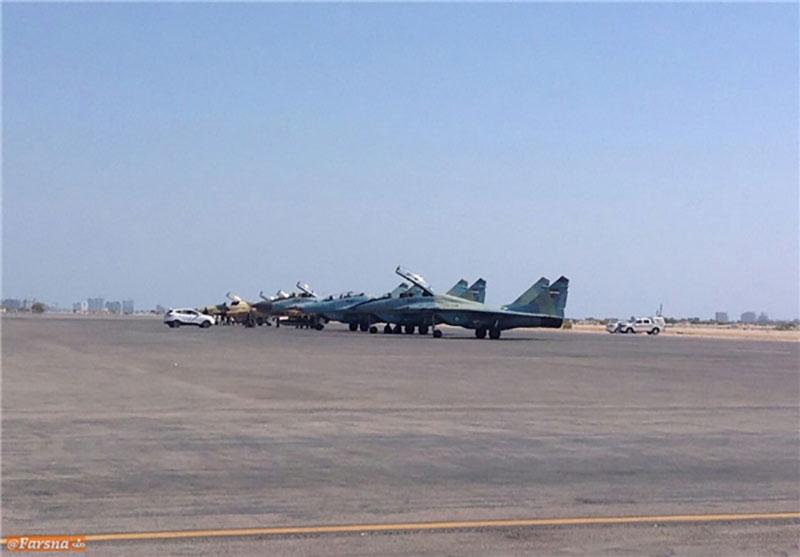 3 فروند جنگنده MiG-29 و 2 فروند صاعقه