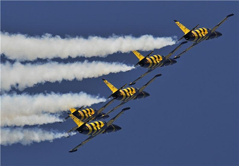 برگزاری نمایشگاه هوایی خلیج فارس در کیش