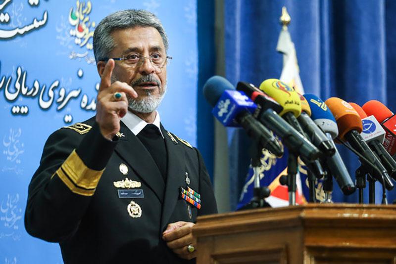 سخنرانی دریادار سیاری به مناسبت روز نیروی دریایی