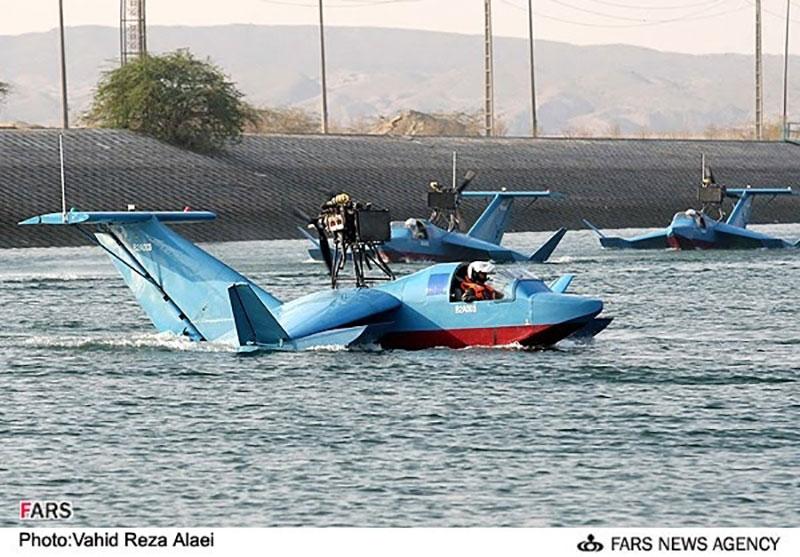 قایق های پرنده ایرانی