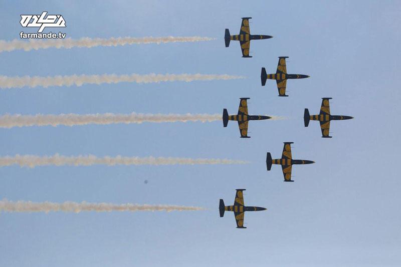 تصاویر اختصاصی سایت فرمانده از نمایشگاه هوایی کیش؛ عکاس: مالک عباسی