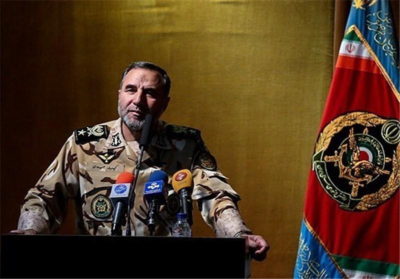 استقرار یگان های ارتش در کویر