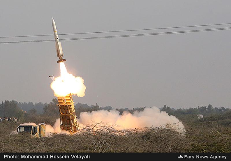 شلیک موشک صیاد