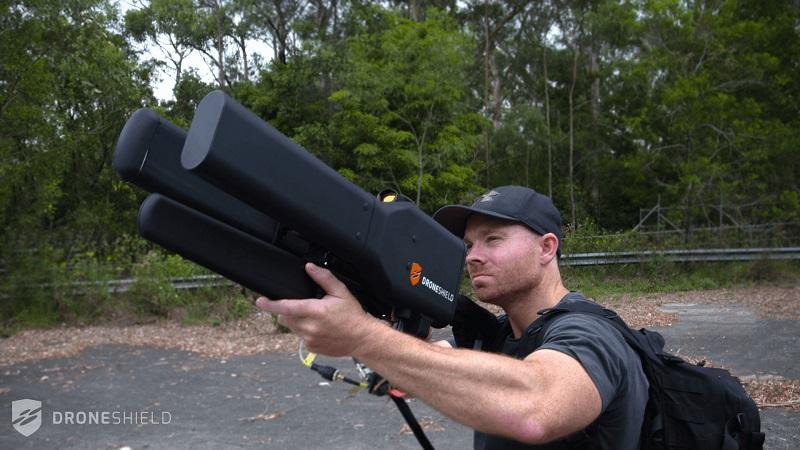 سلاح مسدود کننده drone gun
