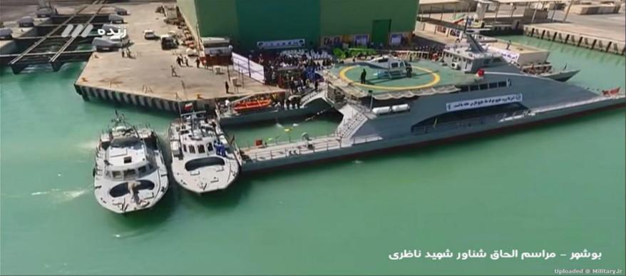 جینز دیفنس: ایران، آماده حضور در آبهای بینالمللی با ساخت شناور شهید ناظری و پایگاه های دریایی