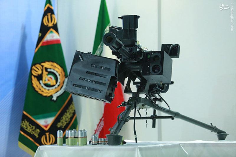 نارنجک انداز 40 میلی متری ارتقاء یافته ایرانی با سیستم اپتیکی و مهمات جدید