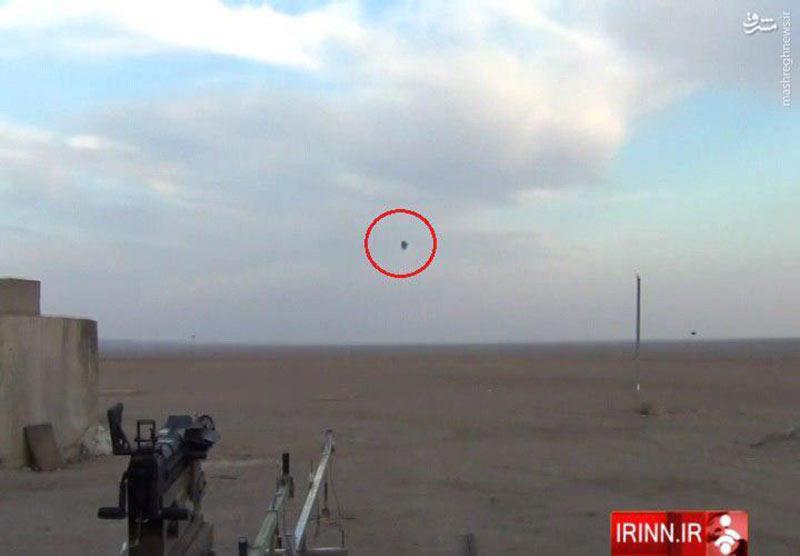 انفجار مهمات Air Burst شلیک شده توسط نارنجک انداز ایرانی