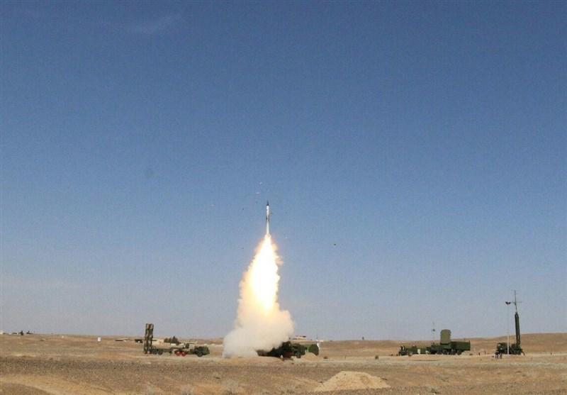 نابودی موشک بالستیک توسط اس 300 در ایران