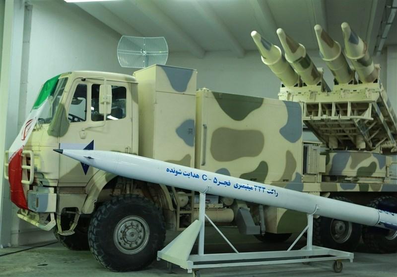 راکت هدایتشونده 333میلیمتری فجر5
