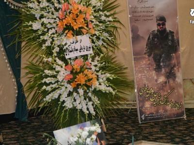 گزارش تصویری از مراسم بزرگداشت نخستین سالگرد فرمانده شهید، حاج محمد ناظری