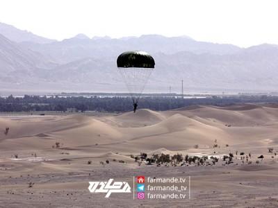 تجربه سقوط آزاد از هواپیما در مسابقه فرمانده ۴